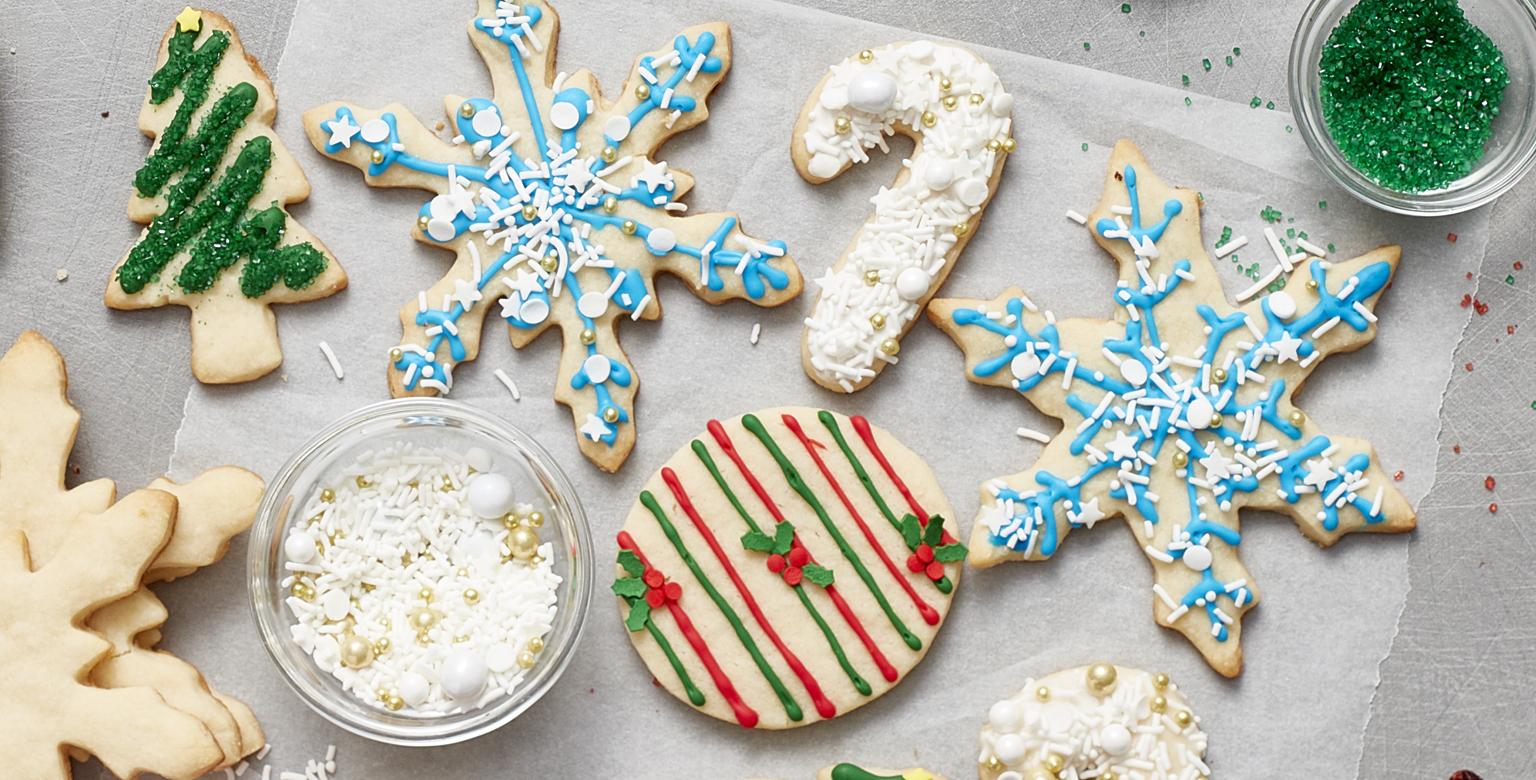 Biscuits Festifs à décorer