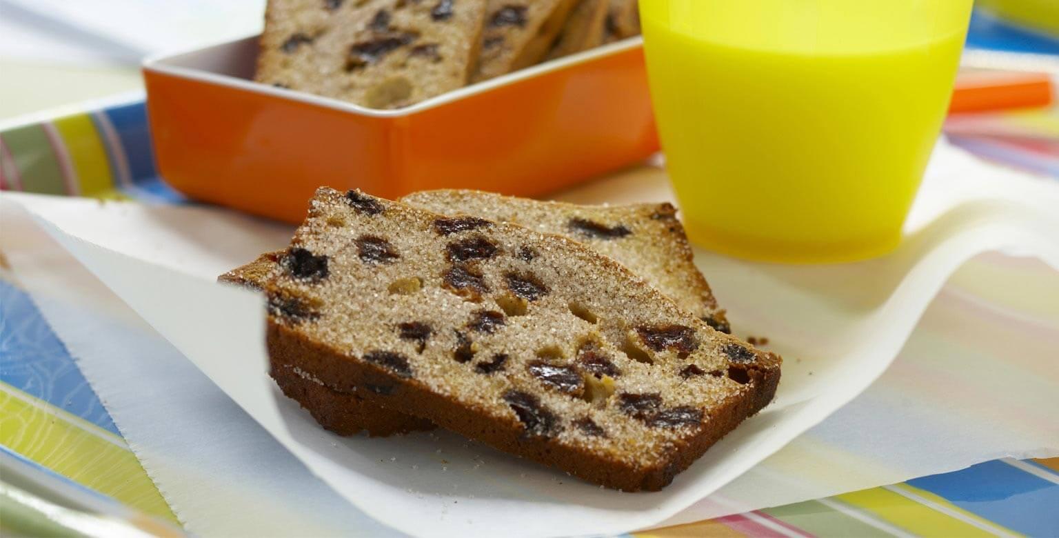 Voir la recette - Biscuits à la cannelle et aux raisins secs