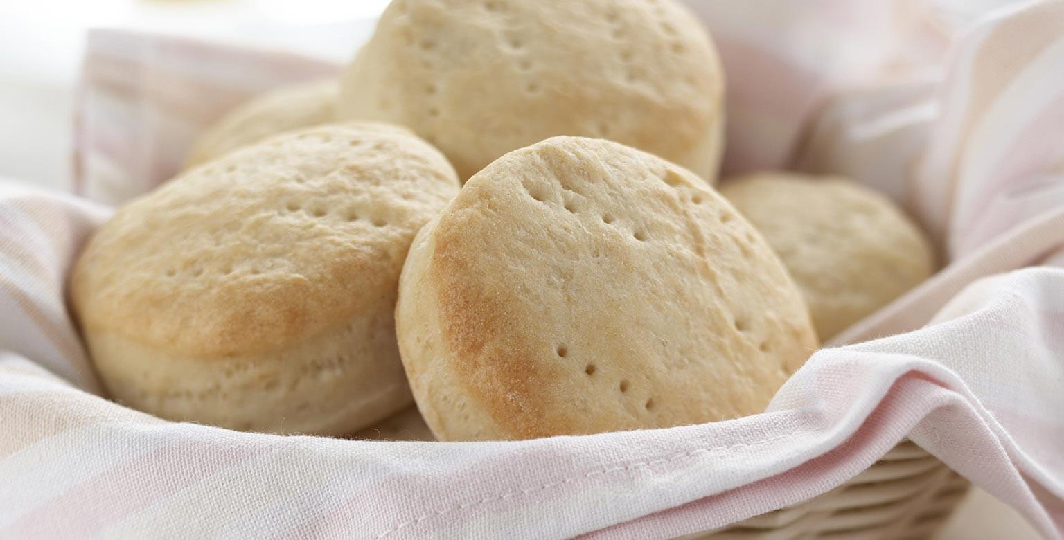 Voir la recette - Biscuits au babeurre