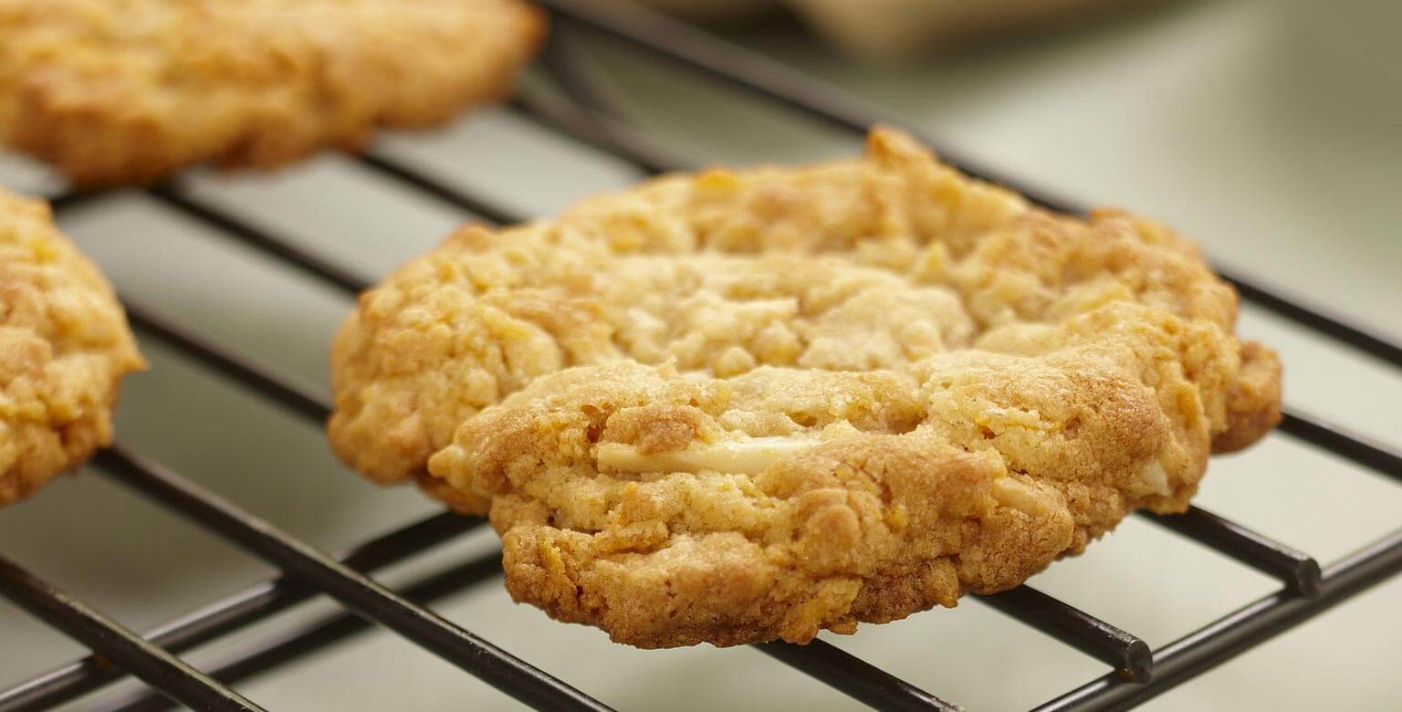 Voir la recette - Biscuits aux amandes et au caramel écossais