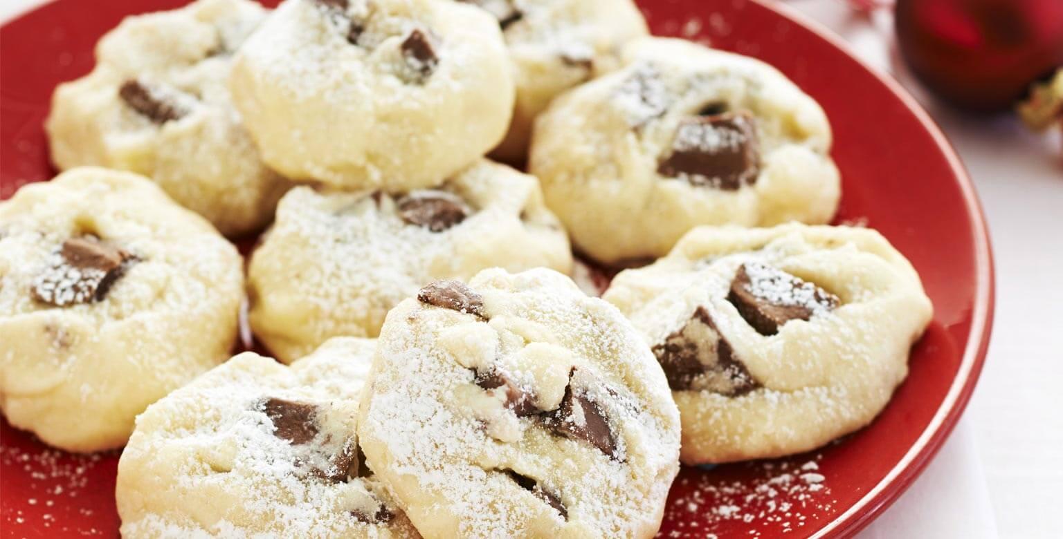 Voir la recette - Biscuits aux morceaux de chocolat