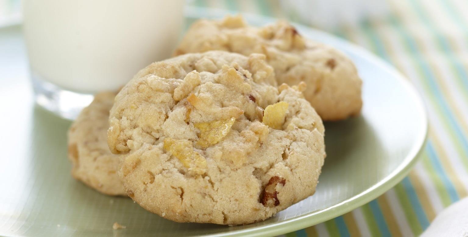 Voir la recette - Biscuits croquants