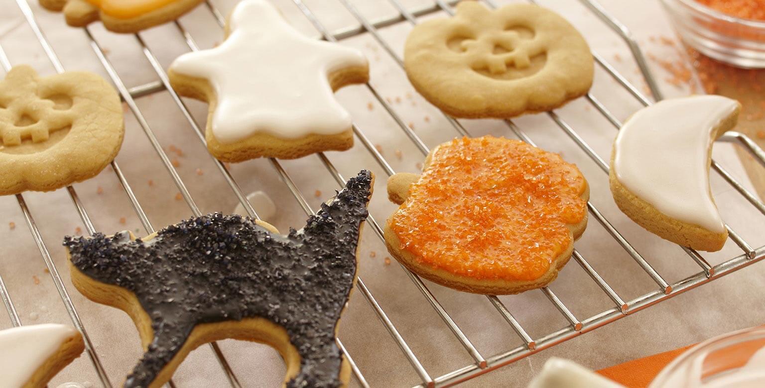 Voir la recette - Biscuits d'halloween