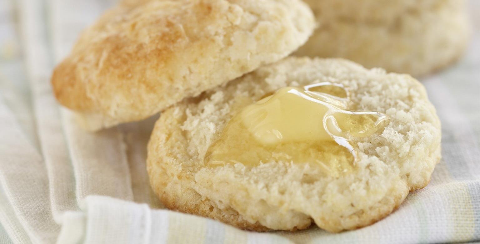 Voir la recette - Biscuits de thé au babeurre