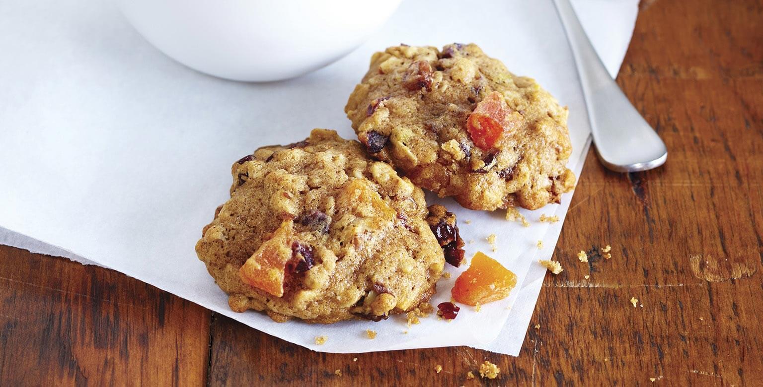 Voir la recette - Biscuits déjeuner au gruau