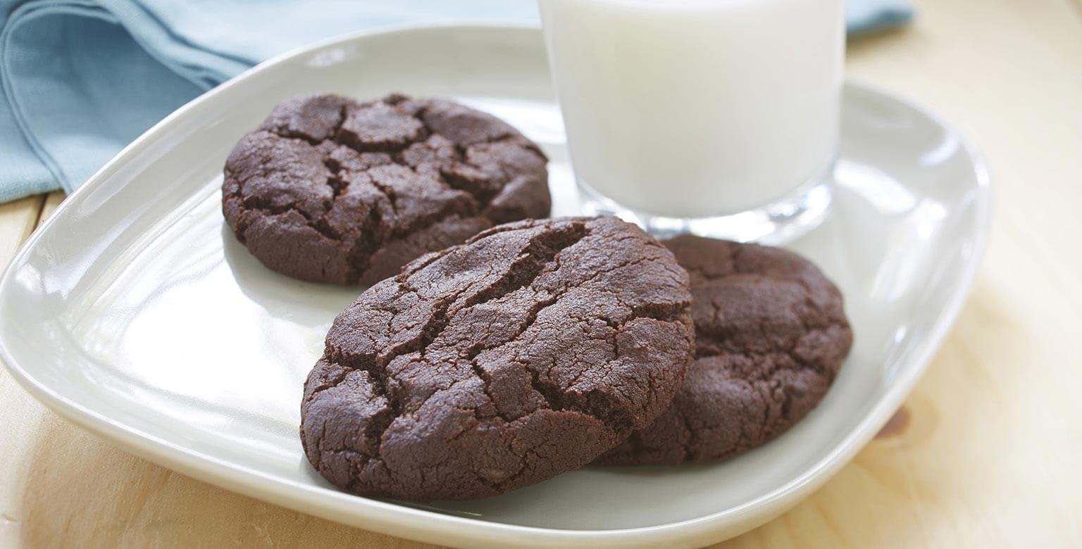 Biscuits double chocolat sans gluten*