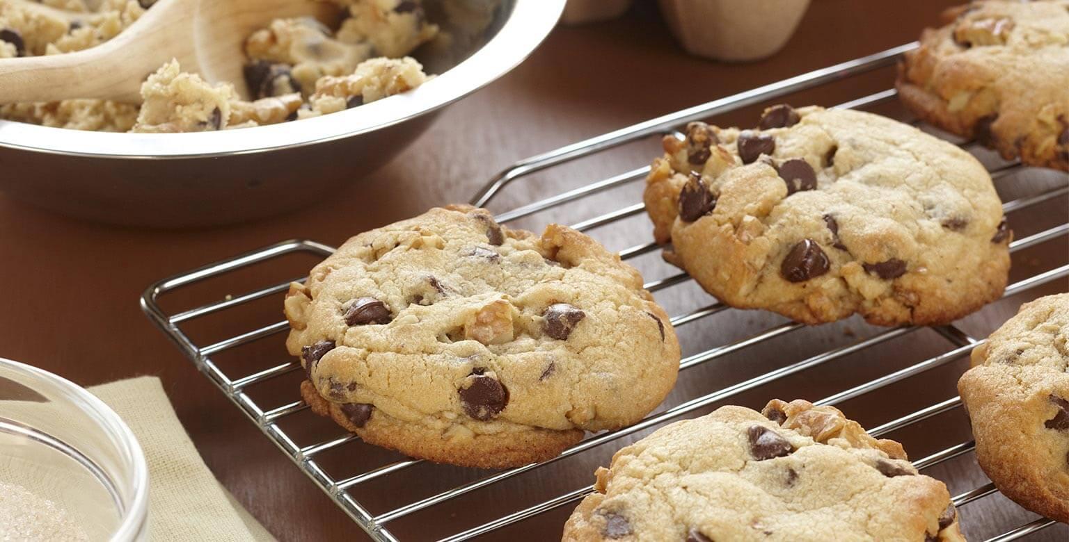 Voir la recette - Biscuits géants aux mini pépites