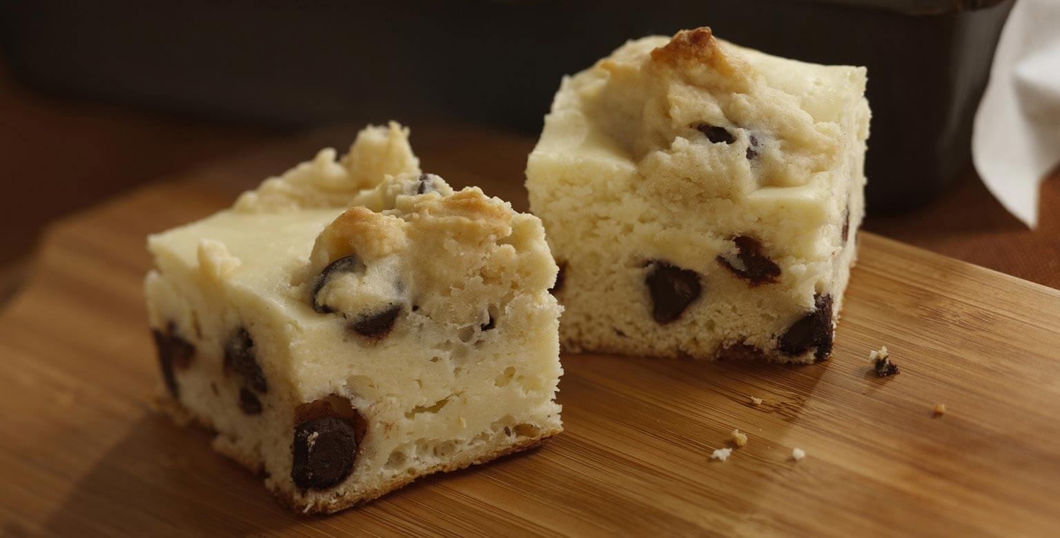 Voir la recette - Bouchées de biscuit au gâteau au fromage