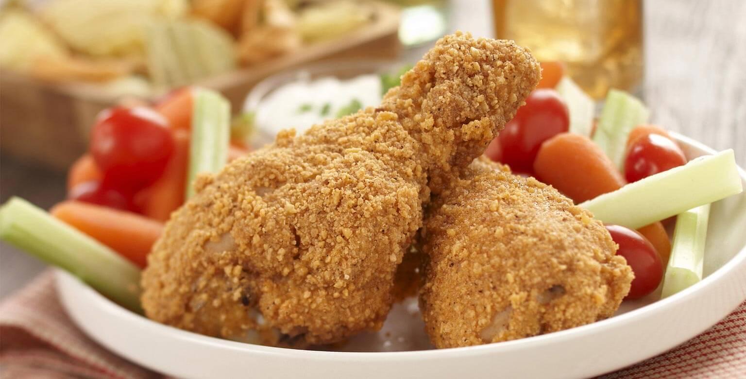 Voir la recette - Croque-en-doigts de poulet