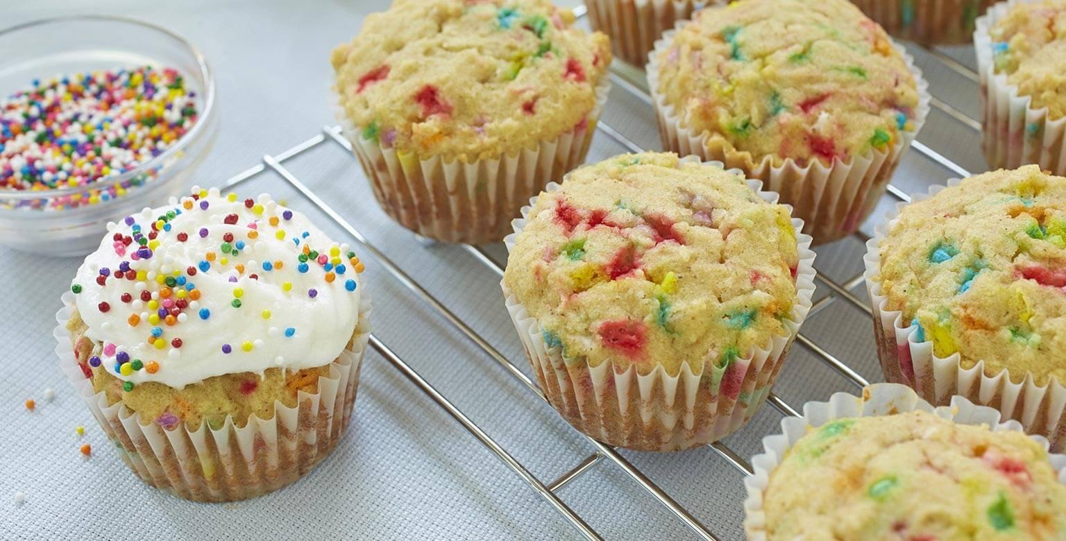 Voir la recette - Cupcakes à la vanille sans gluten* pour les réceptions