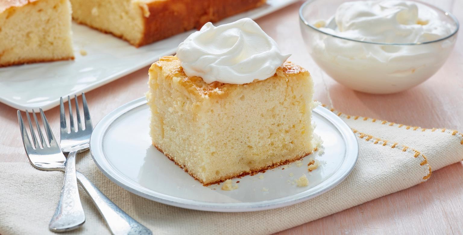 Voir la recette - Gâteau Très Leches