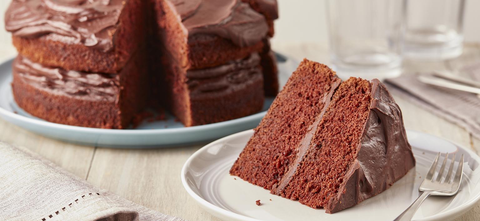 Voir la recette - Gâteau au chocolat extra chocolaté