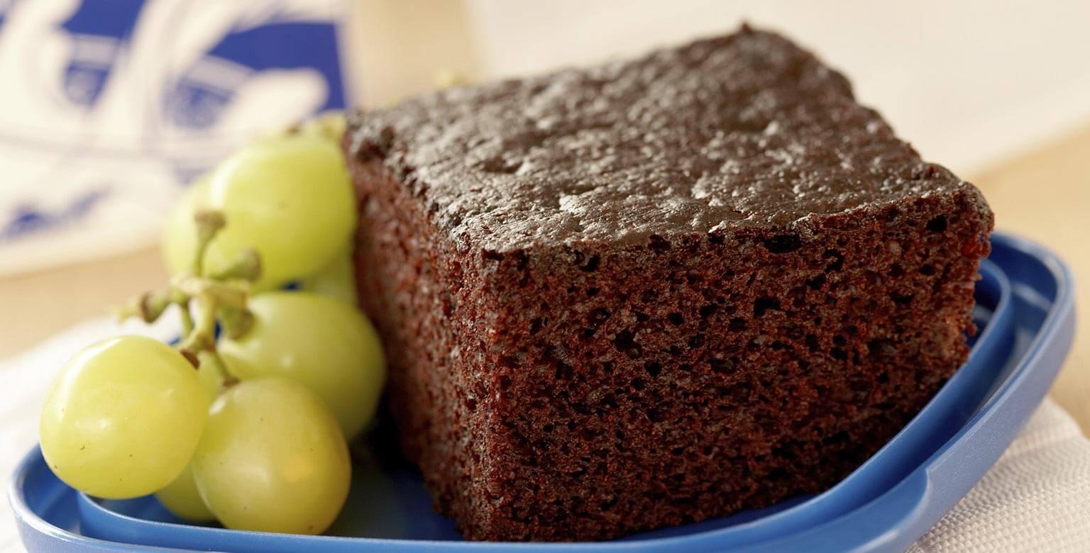 Voir la recette - Gâteau au chocolat vite préparé