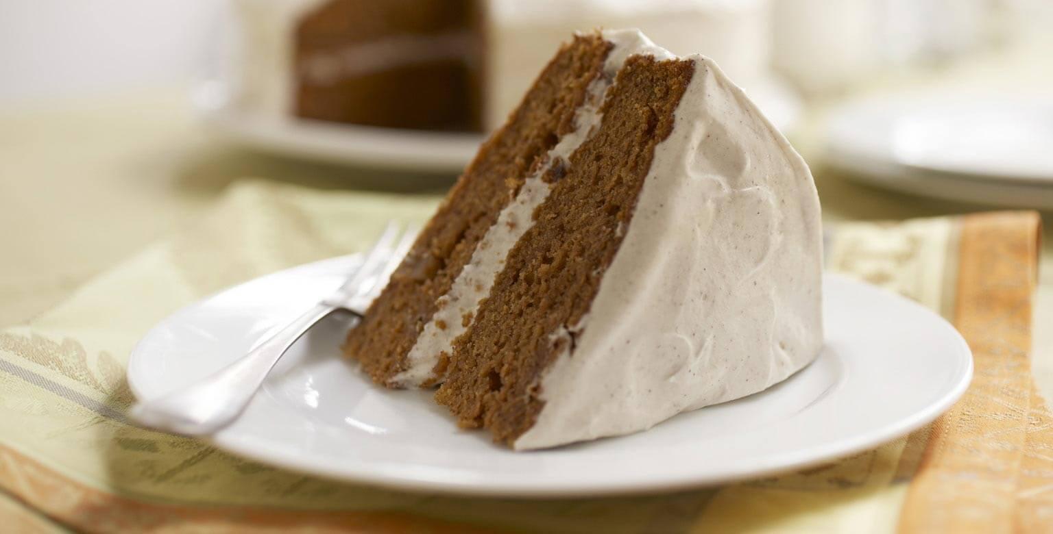Voir la recette - Gâteau au thé chai