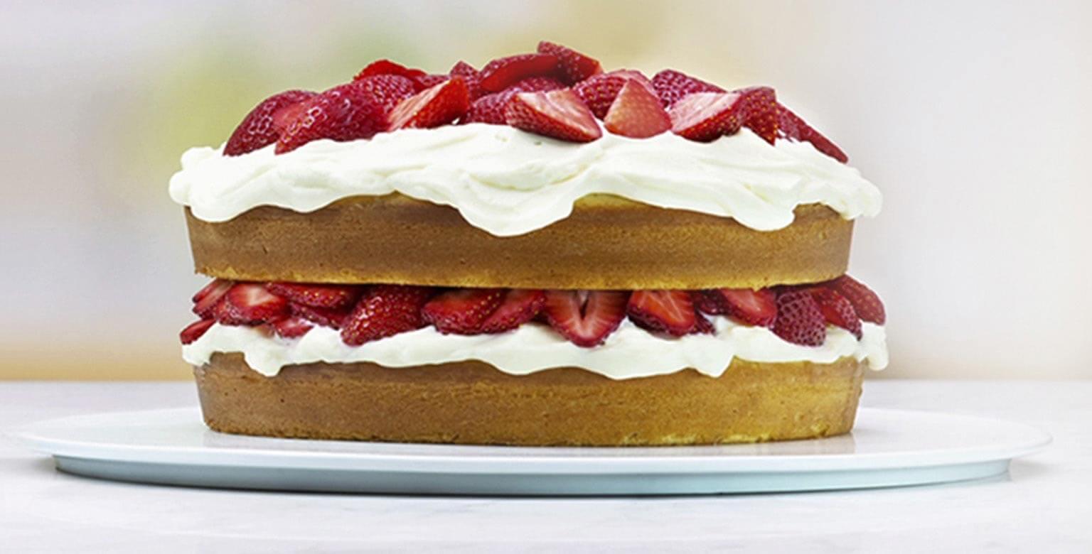 Voir la recette - Gâteau blanc irrésistiblement simple