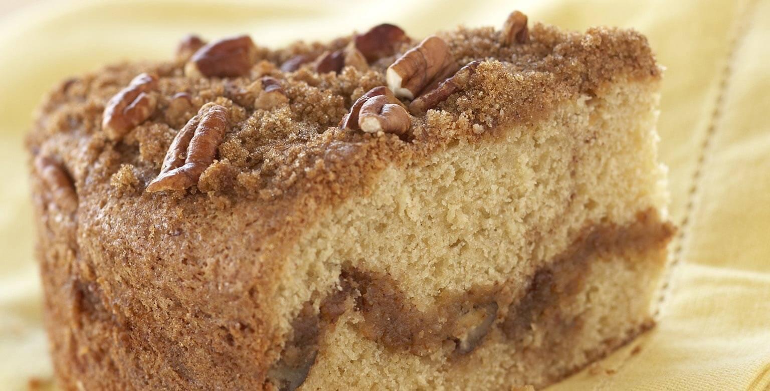 Voir la recette - Gâteau danois à la crème sure