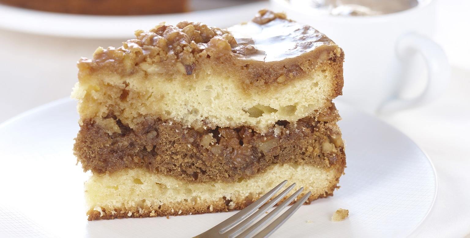 Voir la recette - Gâteau danois au moka