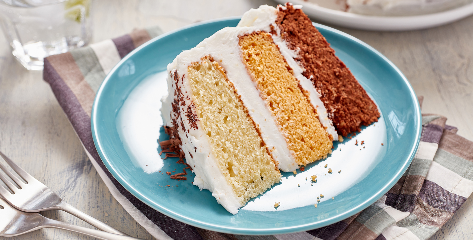 Voir la recette - Gâteau décadent à trois étages
