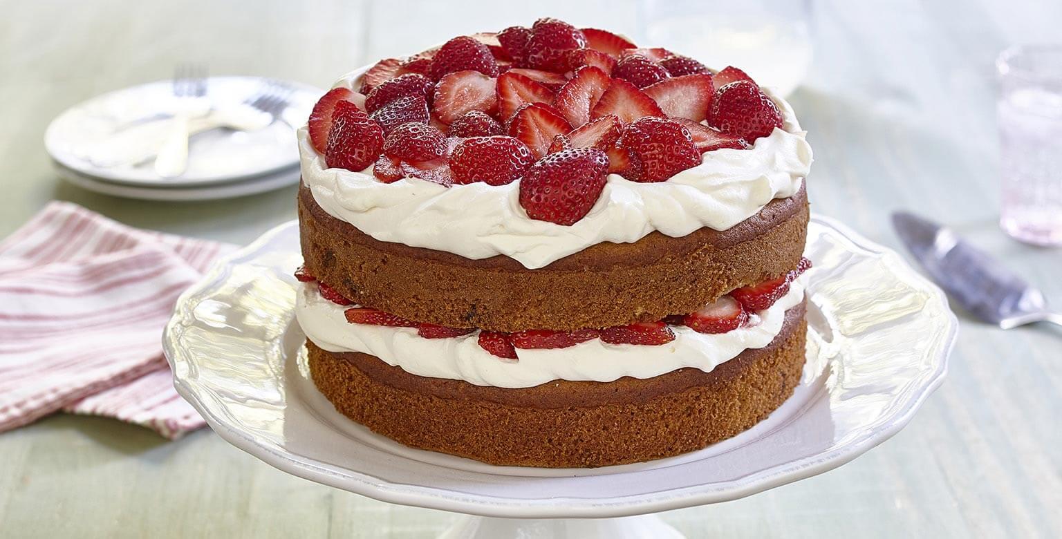 Voir la recette - Gâteau étagé à la banane royale sans gluten*