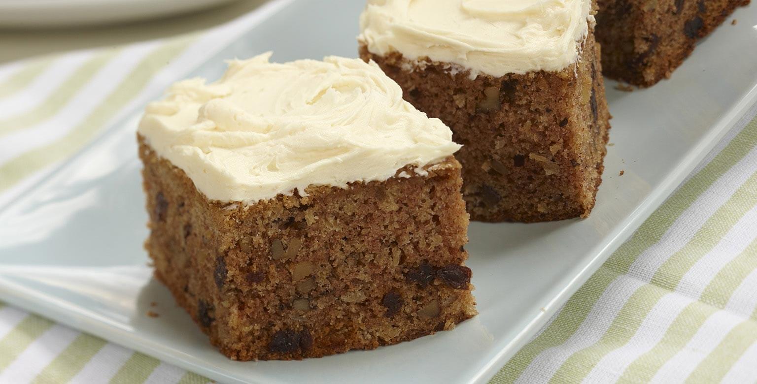 Voir la recette - Gâteau moelleux et épicé à la choucroute