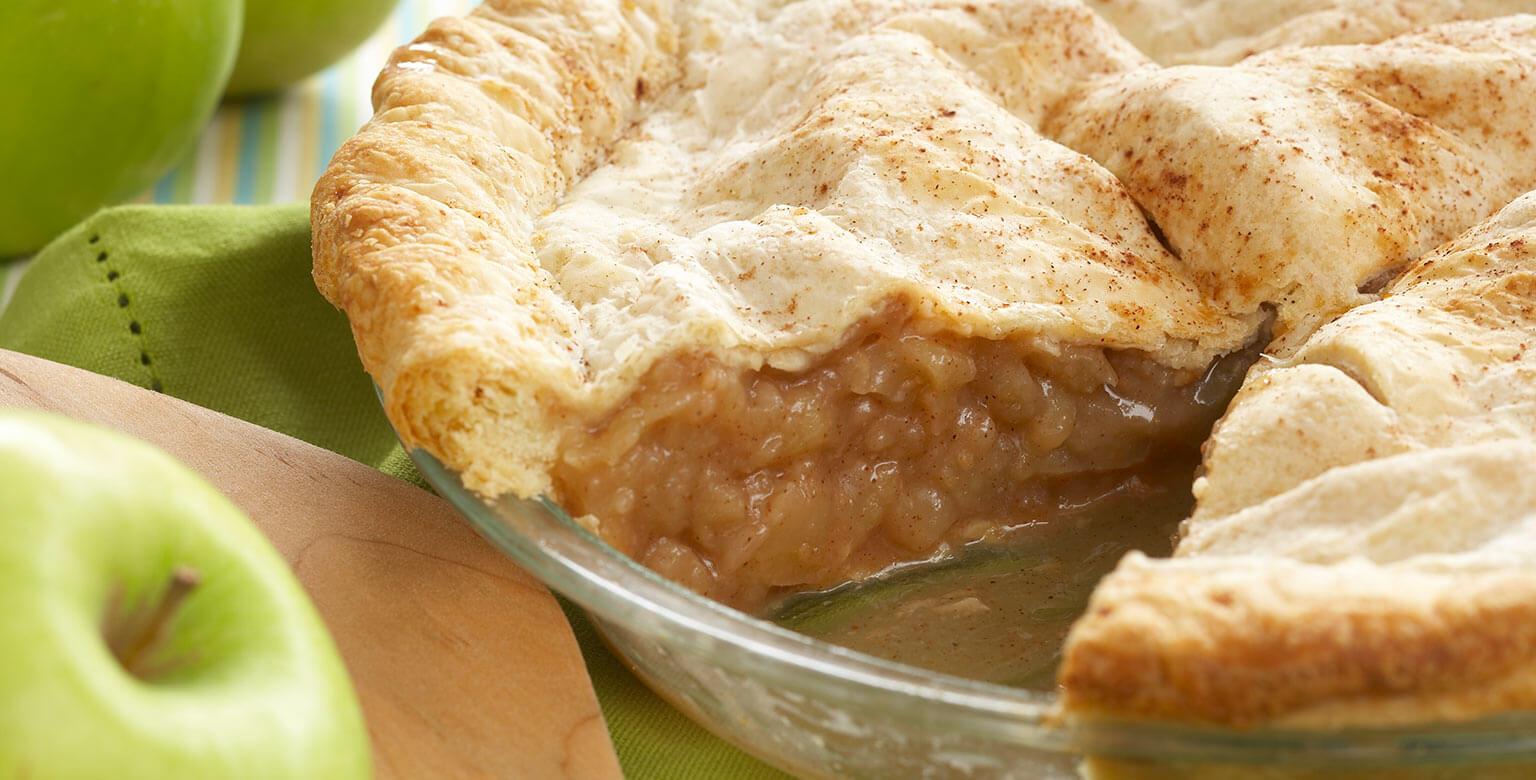 Voir la recette - La croûte à tarte feuilletée parfaite - Double