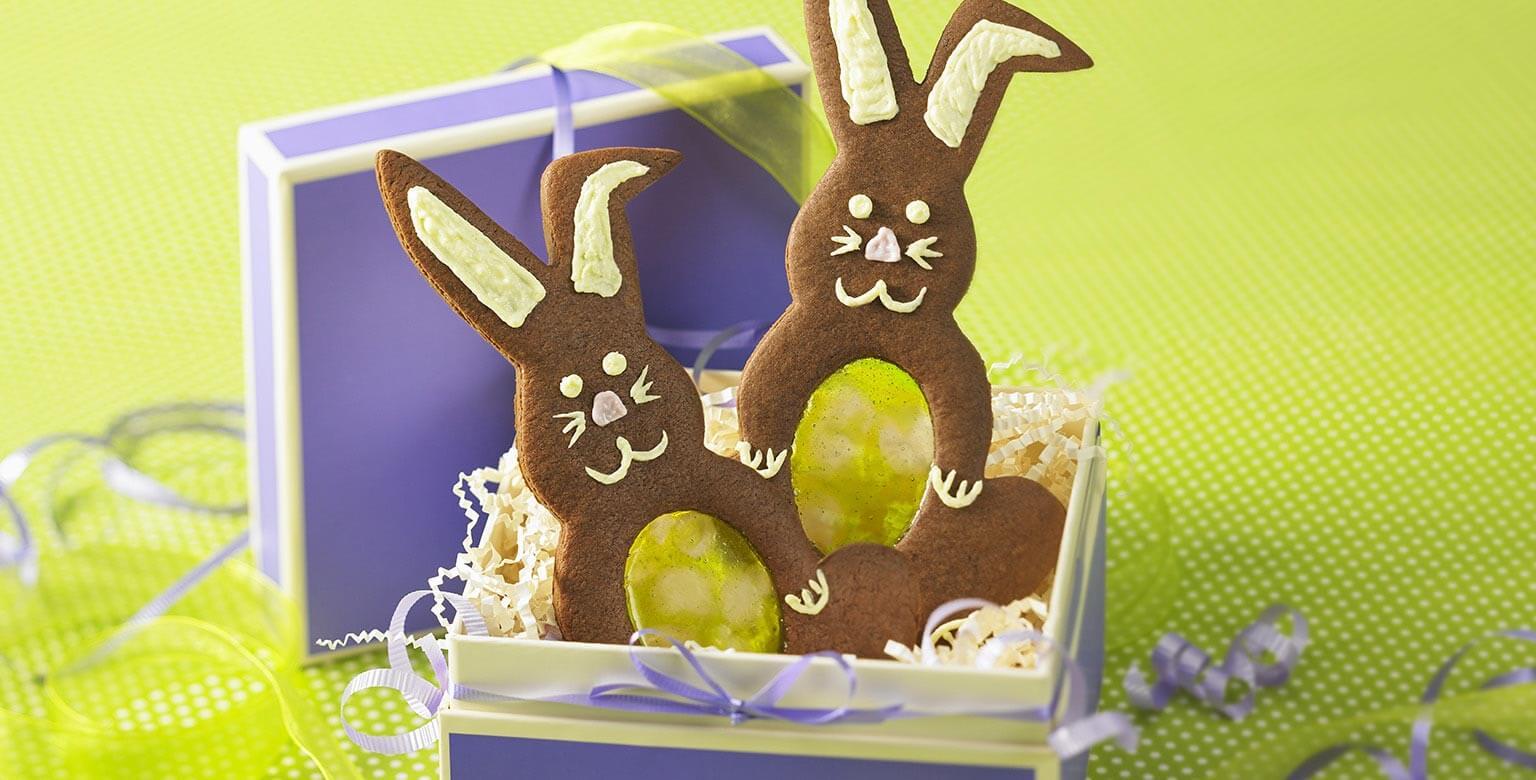 Lapins bondissants en chocolat