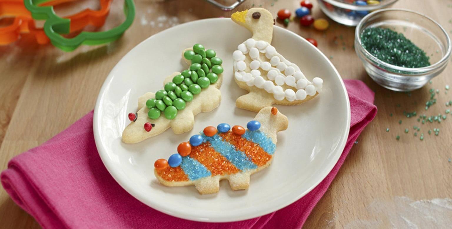 Voir la recette - Ménagerie de biscuits