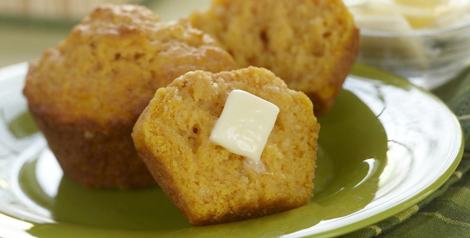 Voir la recette - Muffins à la citrouille