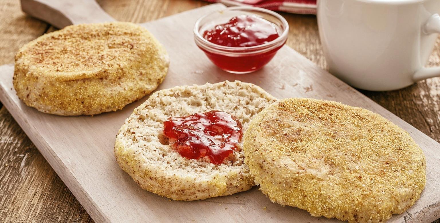 Voir la recette - Muffins anglais maison au blé entier