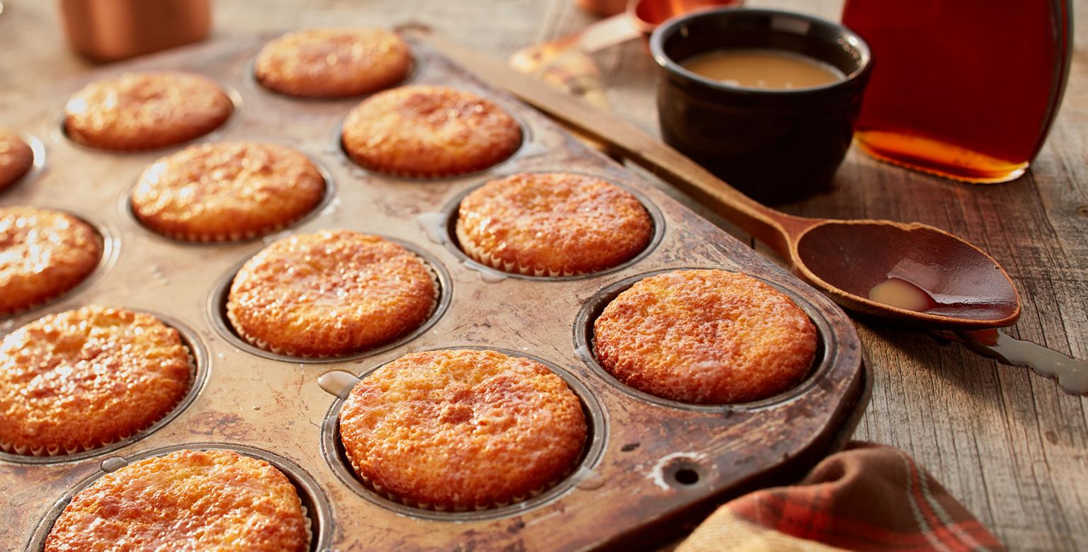 Voir la recette - Muffins au sirop d'érable