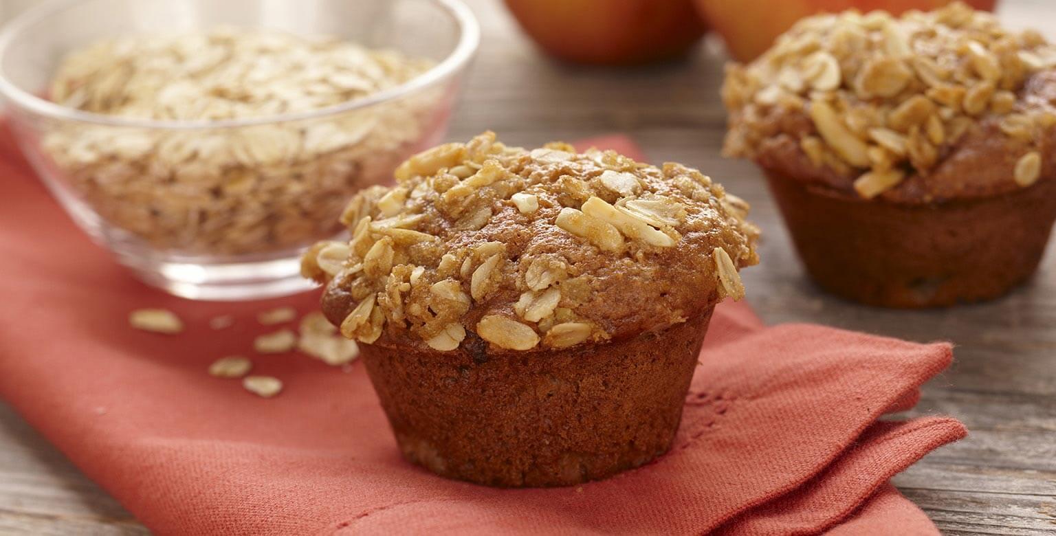 Voir la recette - Muffins aux figues et aux pommes