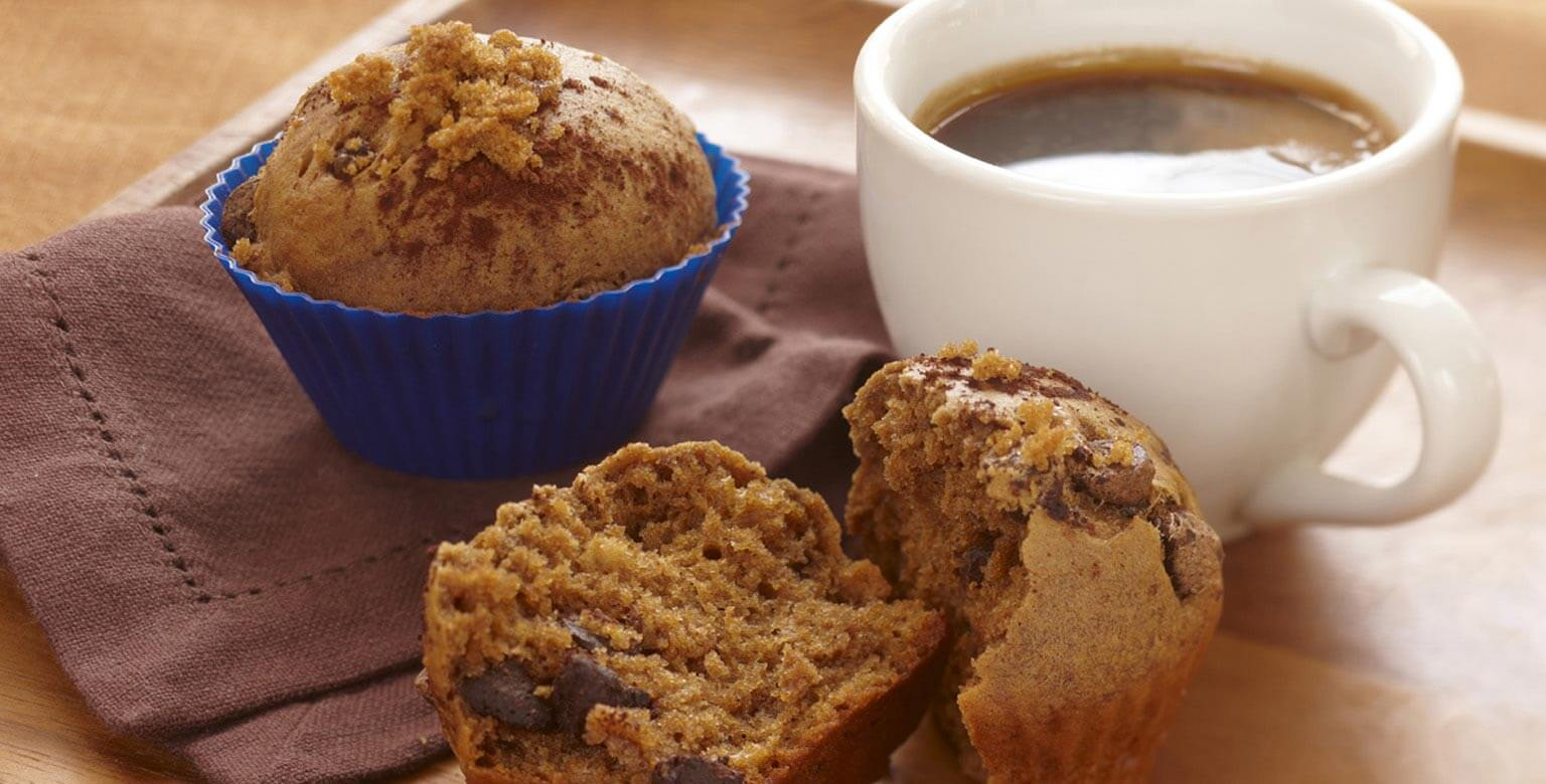 Voir la recette - Muffins cappuccino