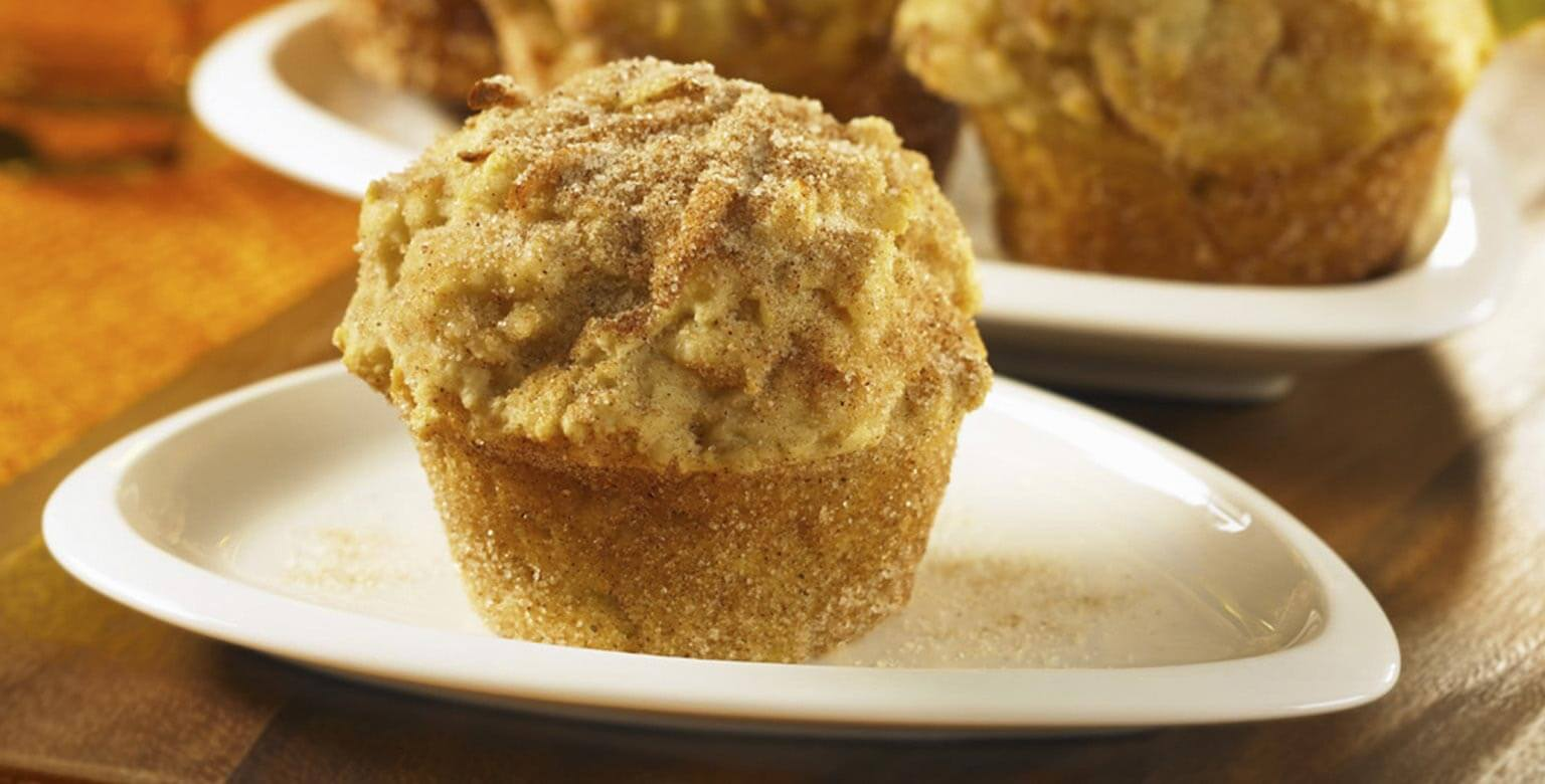 Voir la recette - Muffins, genre beignets