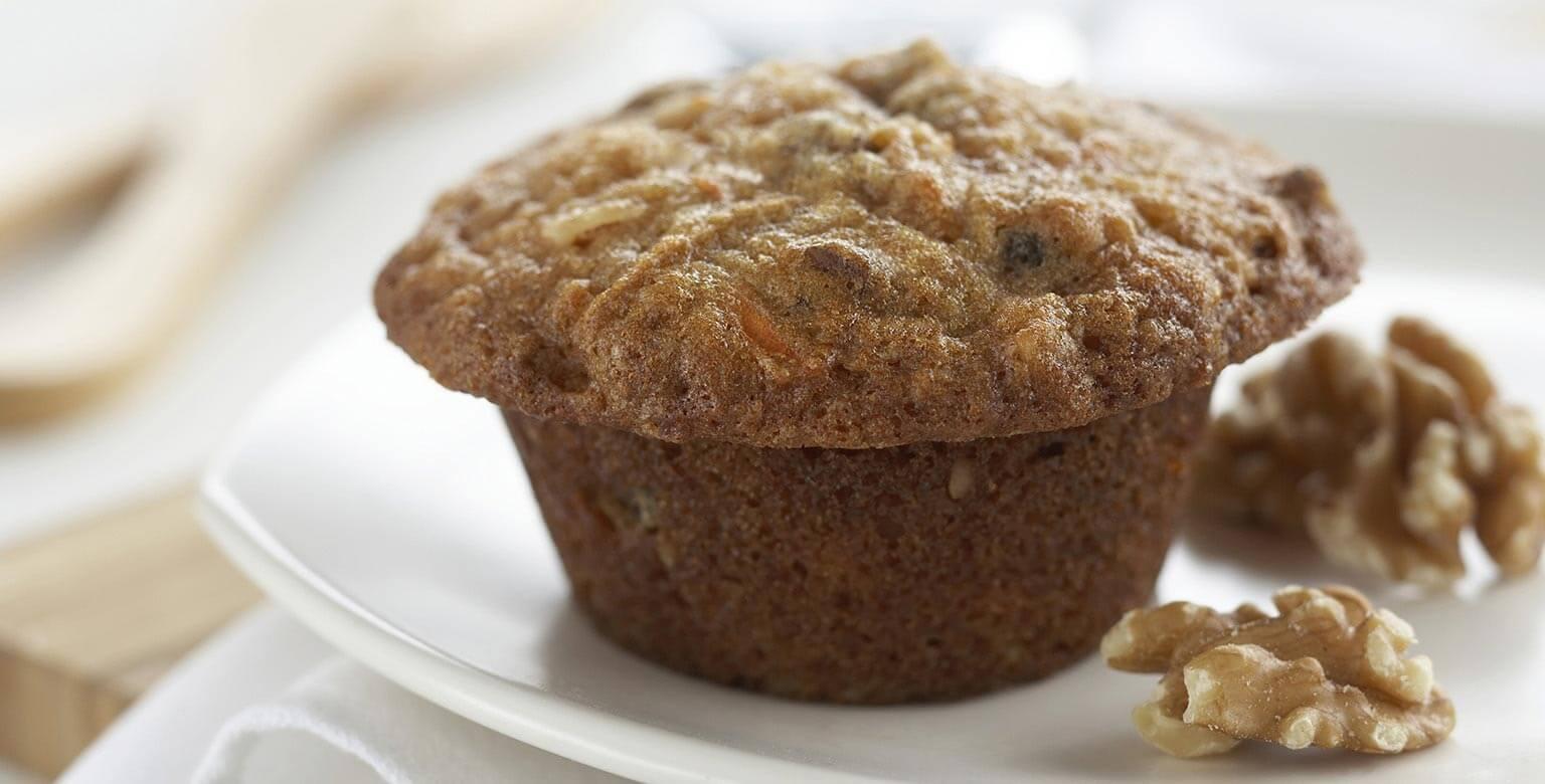 Voir la recette - Muffins glorieux du matin