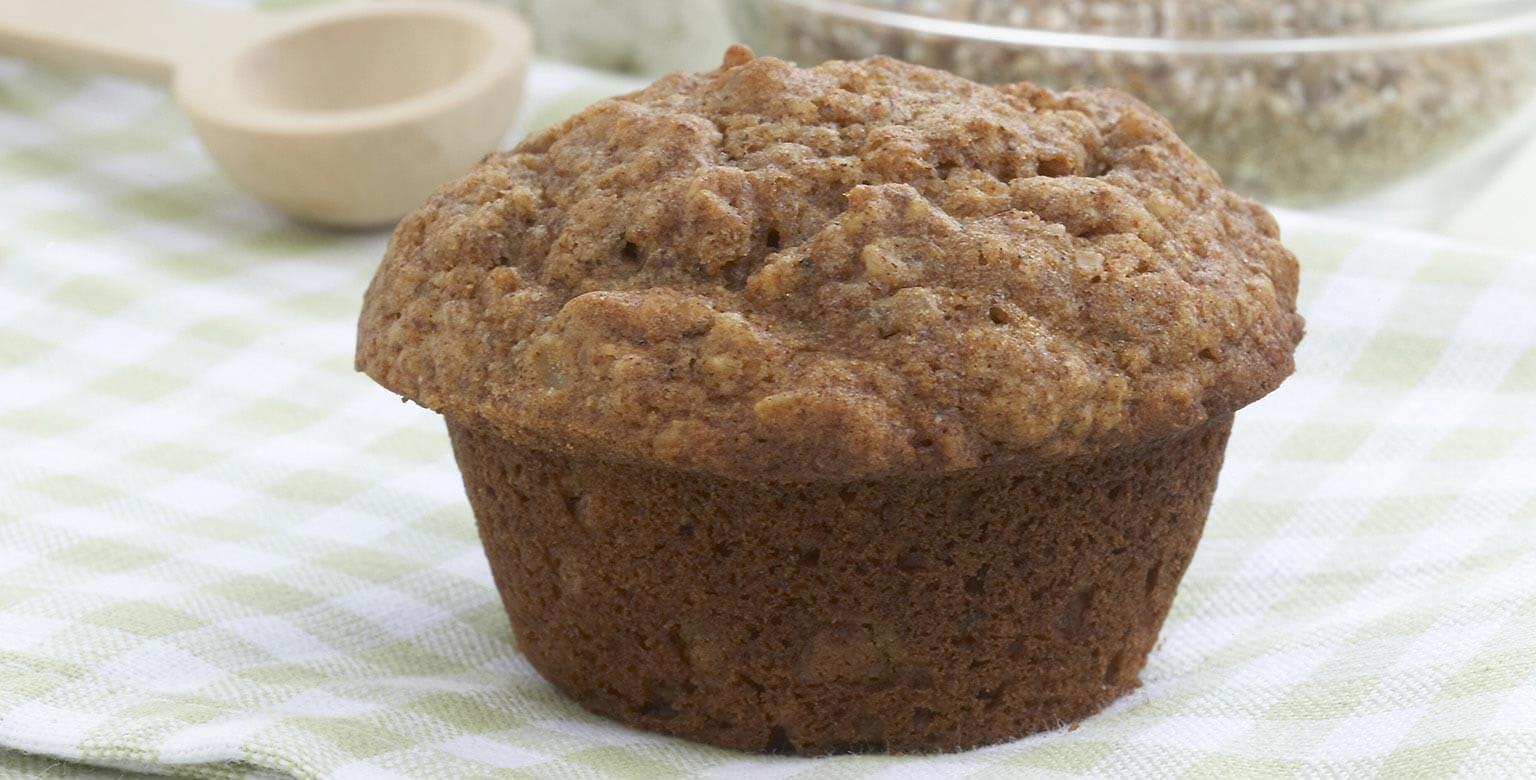 Voir la recette - Muffins multigrain