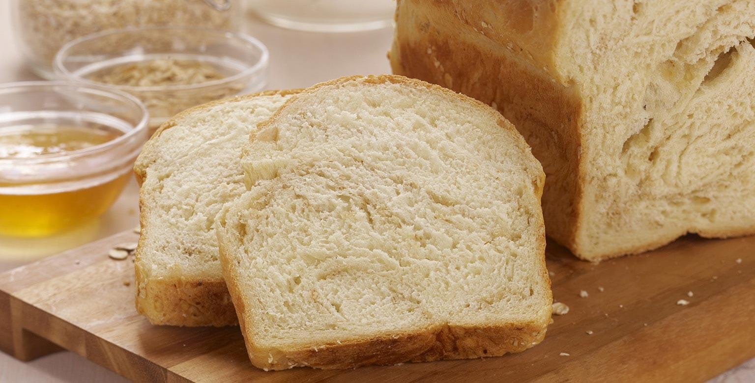 Voir la recette - Pain au blé, au miel et à l'avoine - petit pain