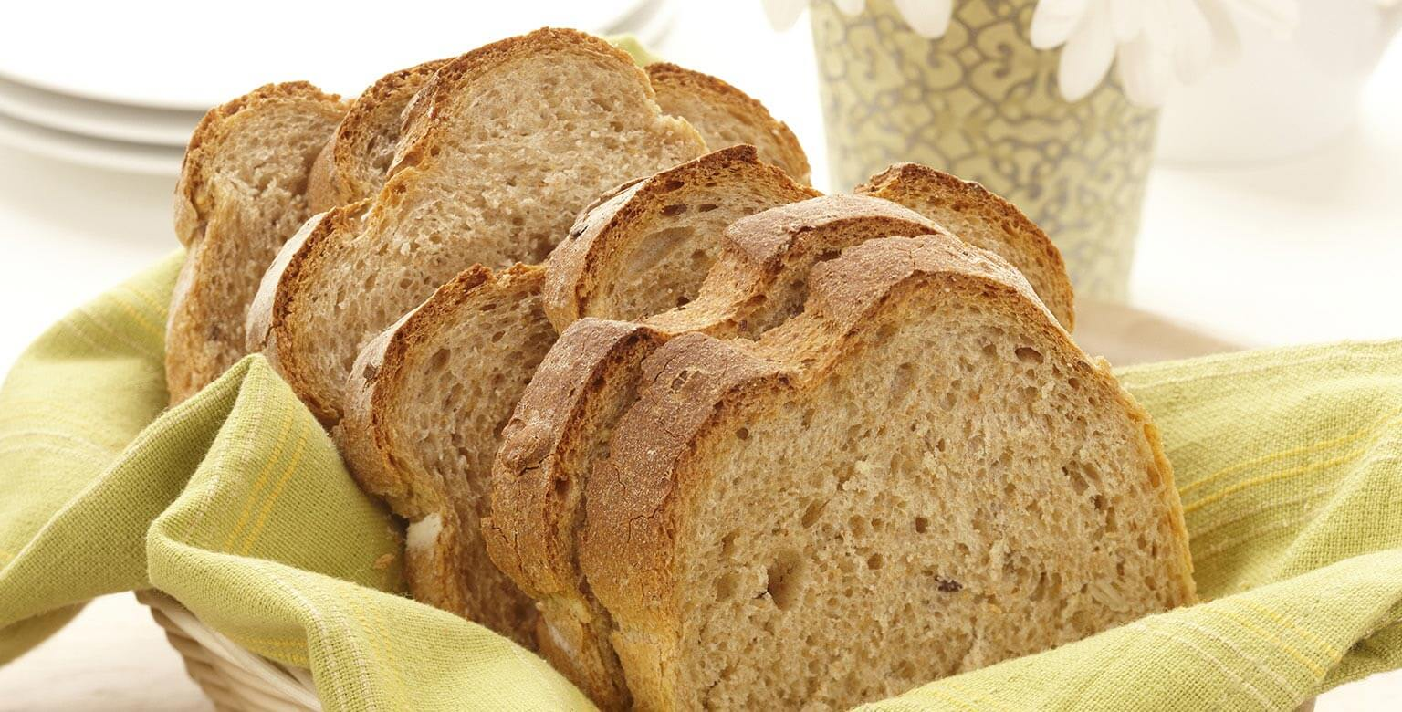 Voir la recette - Pain brun rustique – Petit pain
