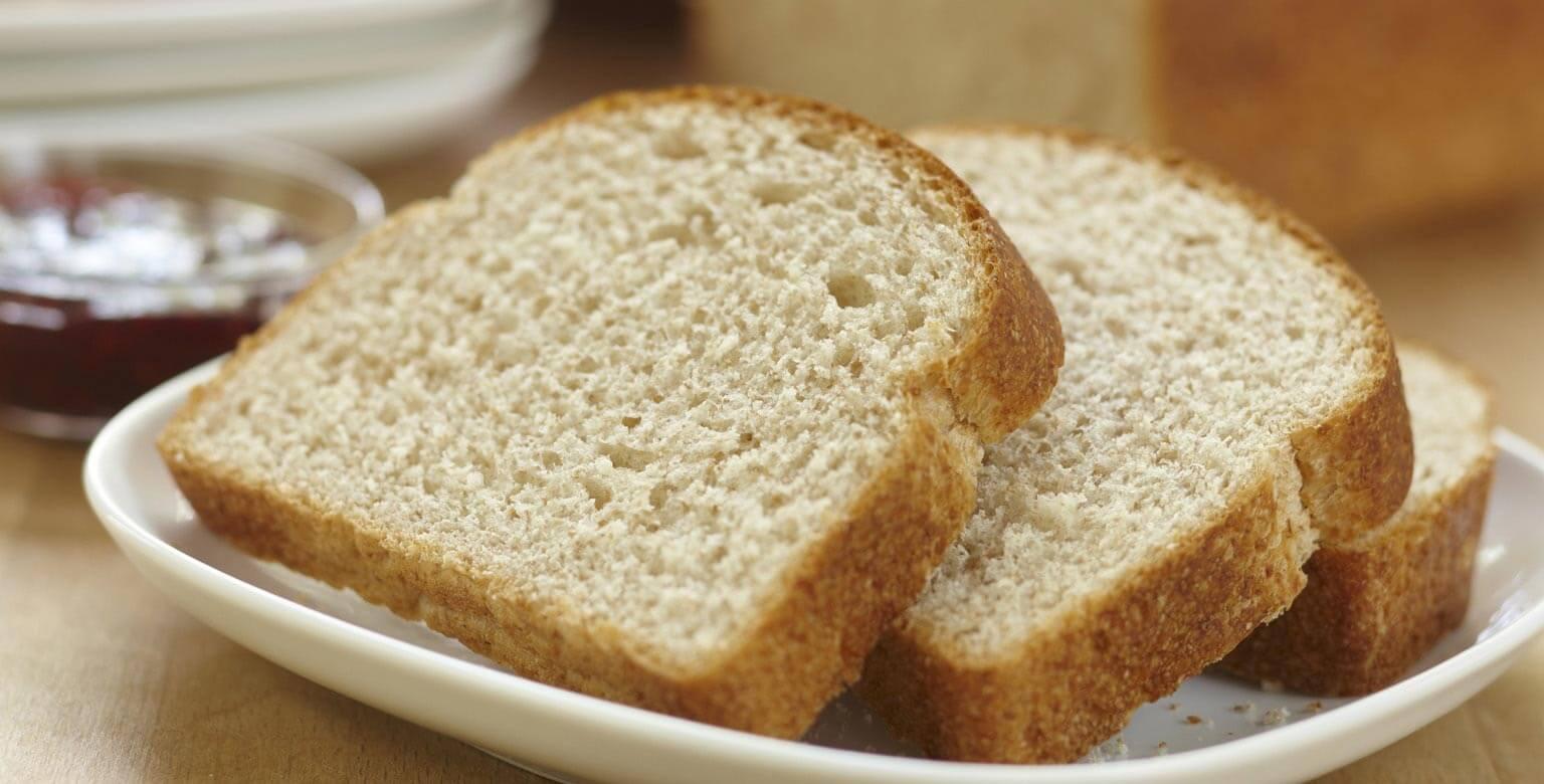Voir la recette - Pain à 100 % de blé entier