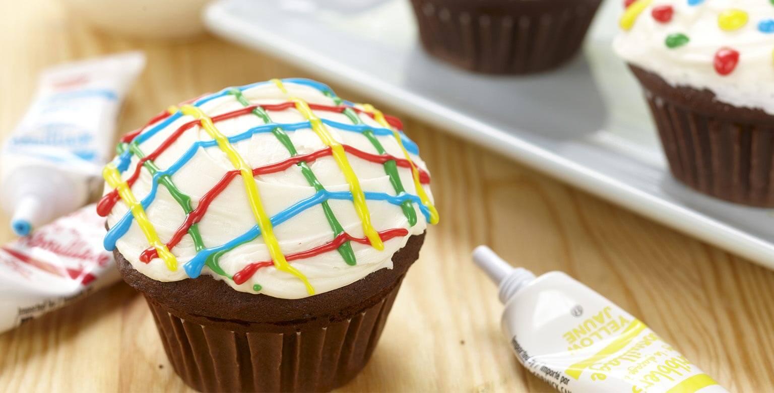Voir la recette - Petits gâteaux au chocolat personnalisés