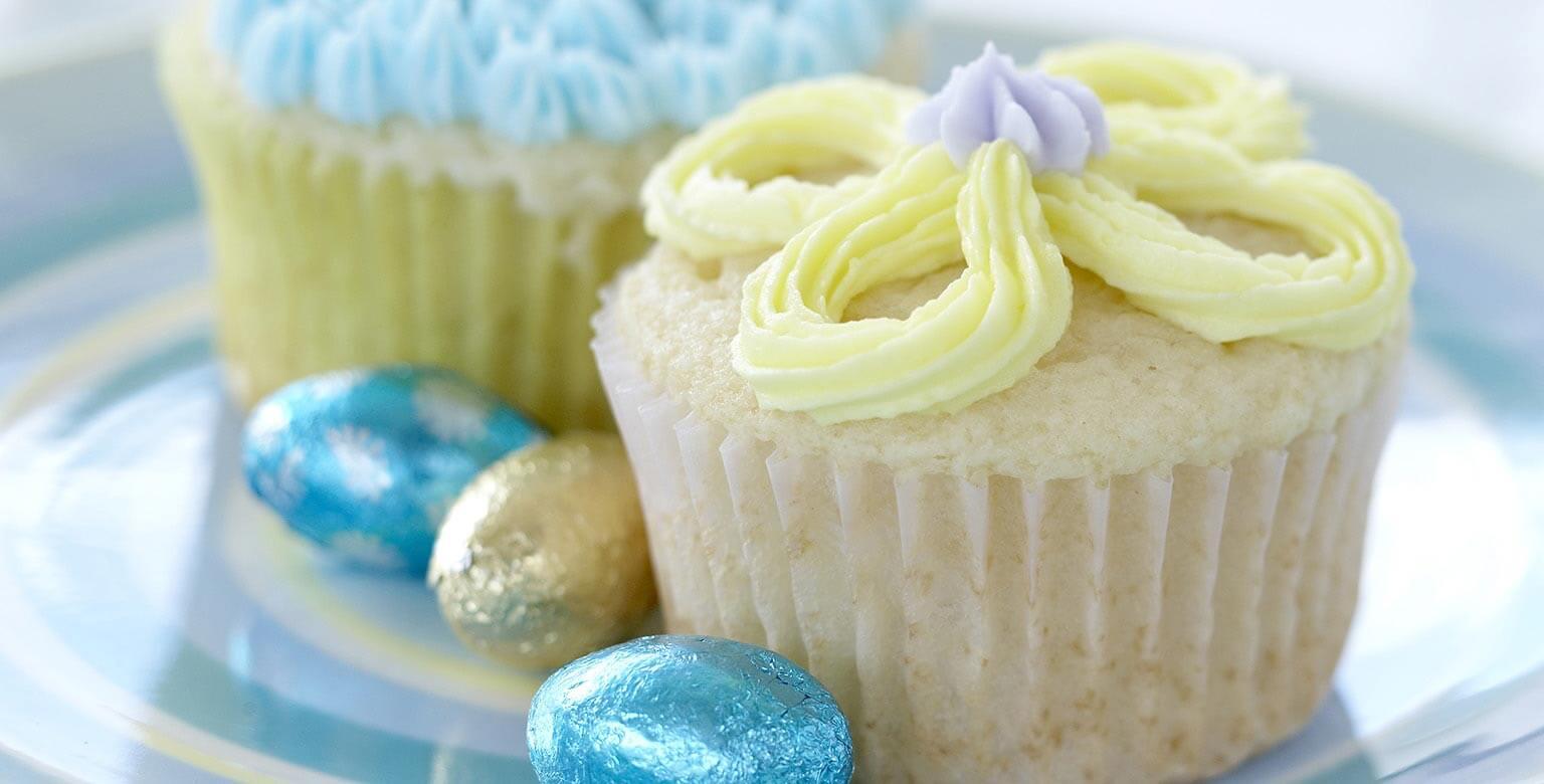 Voir la recette - Petits gâteaux surprises du printemps