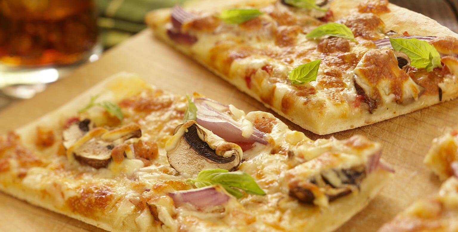 Voir la recette - Pizza maison
