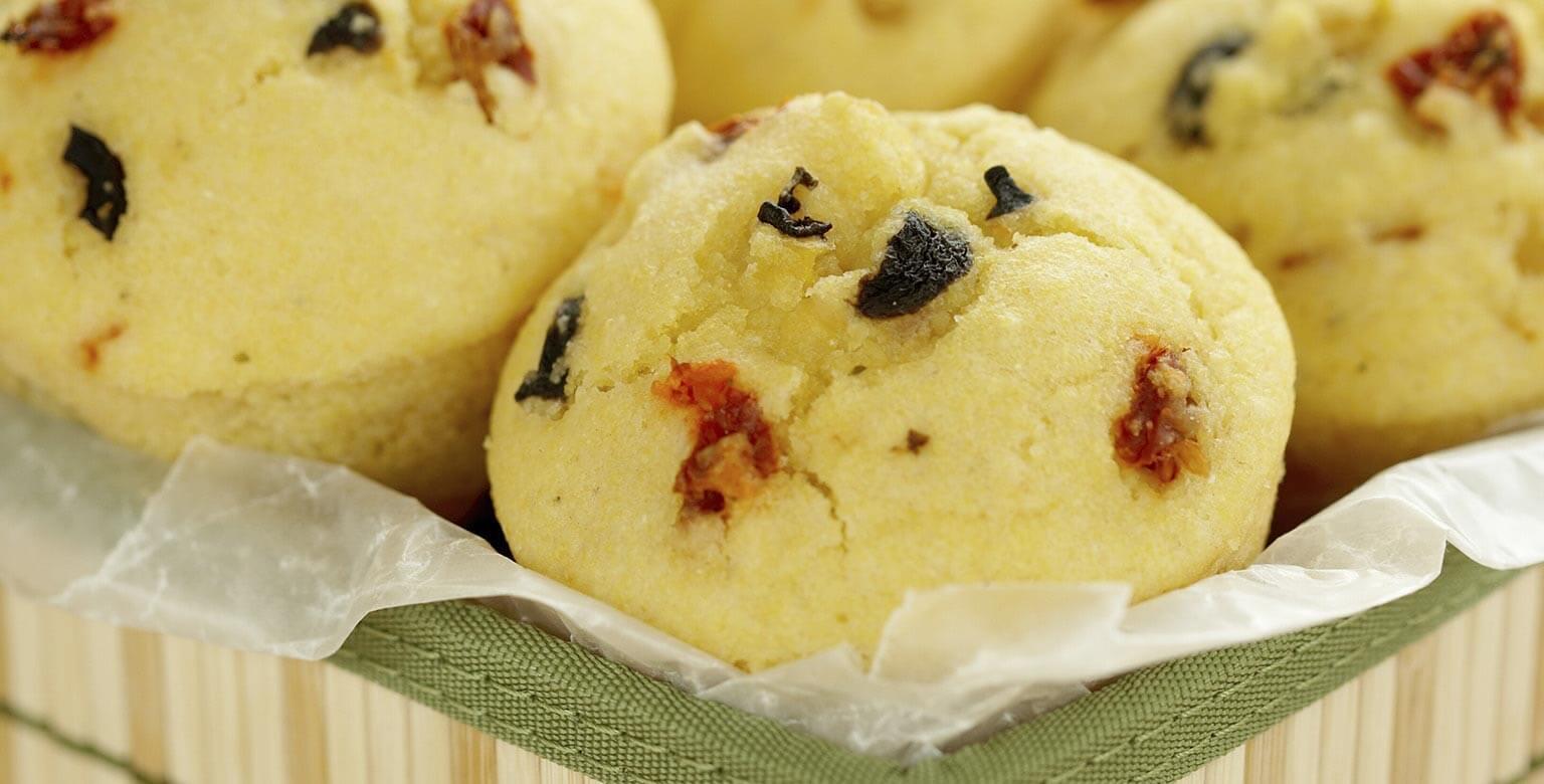 Voir la recette - Savoureux muffins au maïs