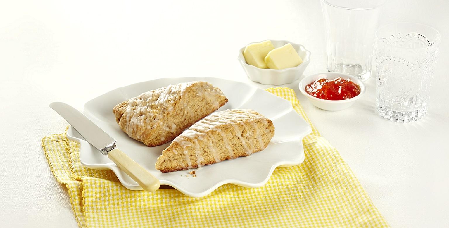 Voir la recette - Scones au pain doré
