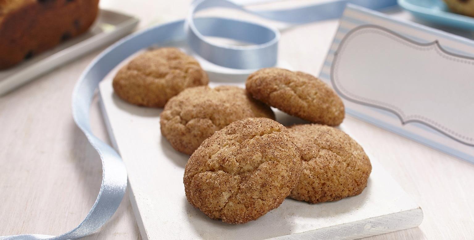 Voir la recette - Snickerdoodles aux bananes sans gluten*