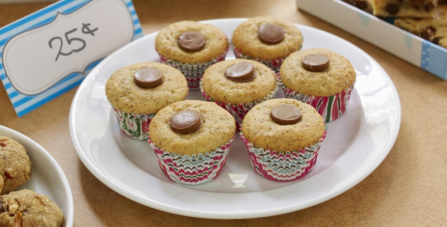 Voir la recette - Surprises aux bananes, caramel et chocolat