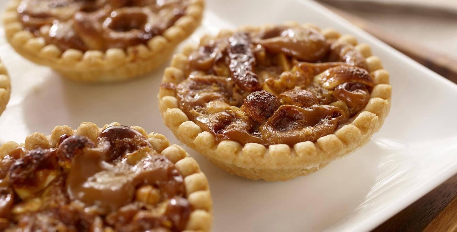 Voir la recette - Tartelettes aux noix Dulce de Leche