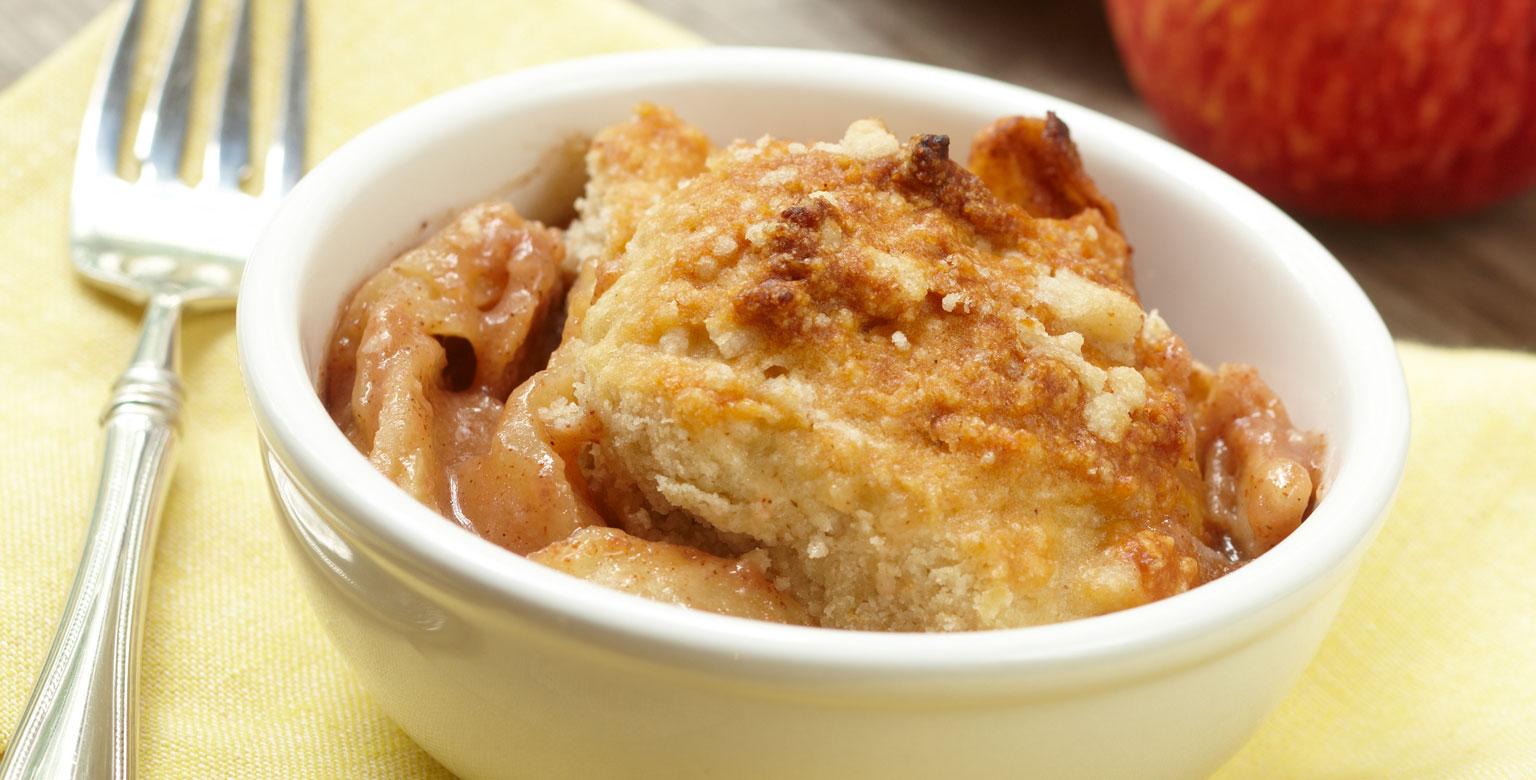 Voir la recette - Tourte aux pommes