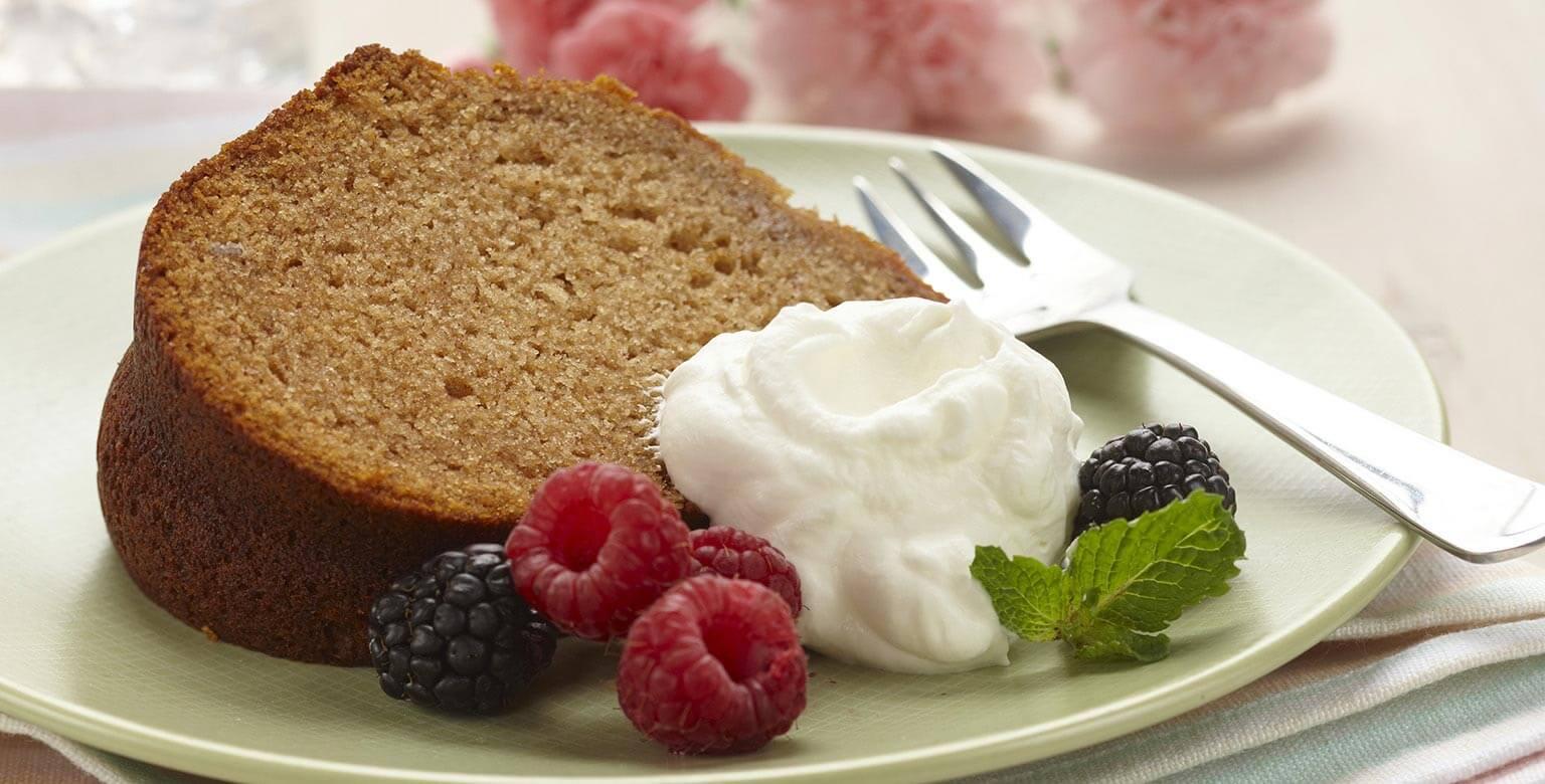 Voir la recette - Un amour de gâteau au miel