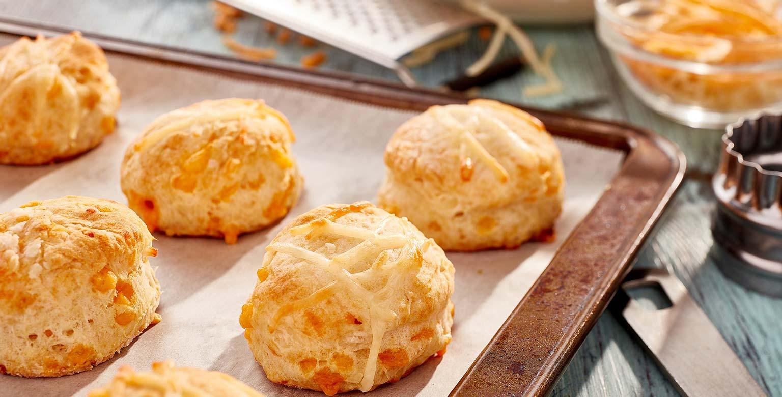 Voir la recette - Biscuits au fromage au levain Sherwood