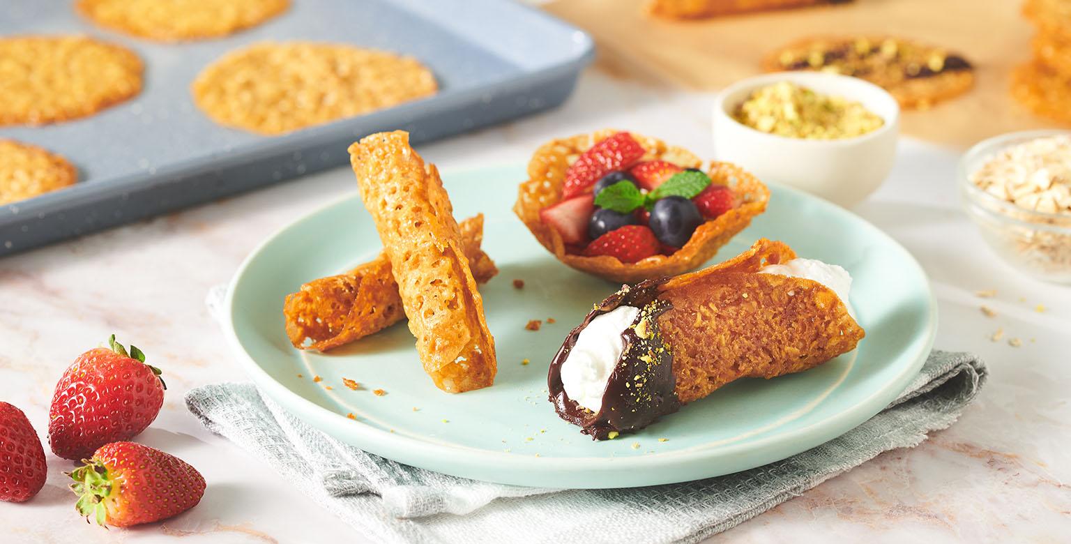 Voir la recette - Biscuits florentins